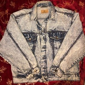 "Vintage ""LizWear"" distressed size Large jacket"